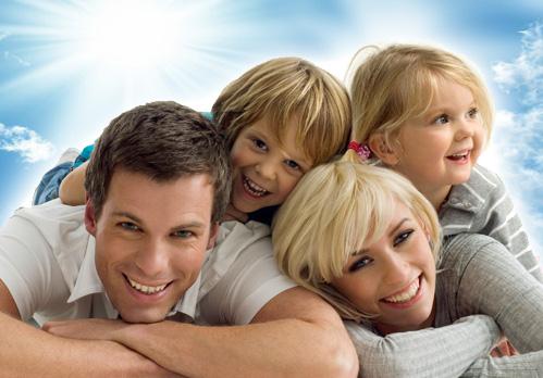 Семейное горячее фото