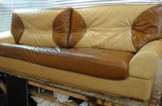 Правила перетяжки диванов