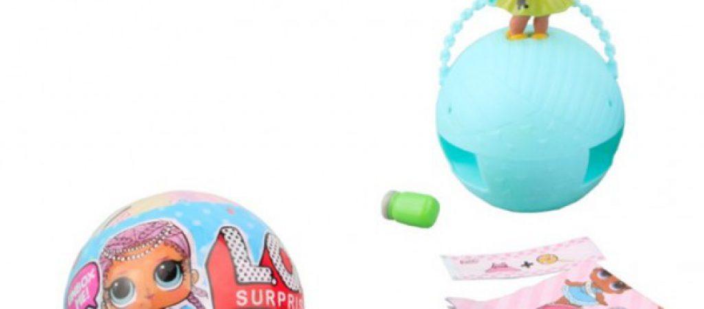 Плюсы детских кукол ЛОЛ в шарике