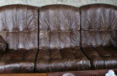 Как происходит обивка кожаной мебели?