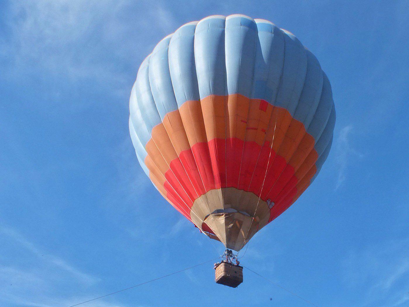 Полёт на воздушном шаре — отличный подарок
