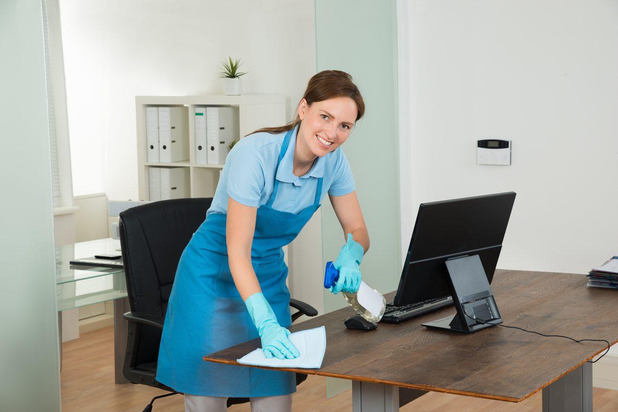 Как проводят генеральную уборку офиса?