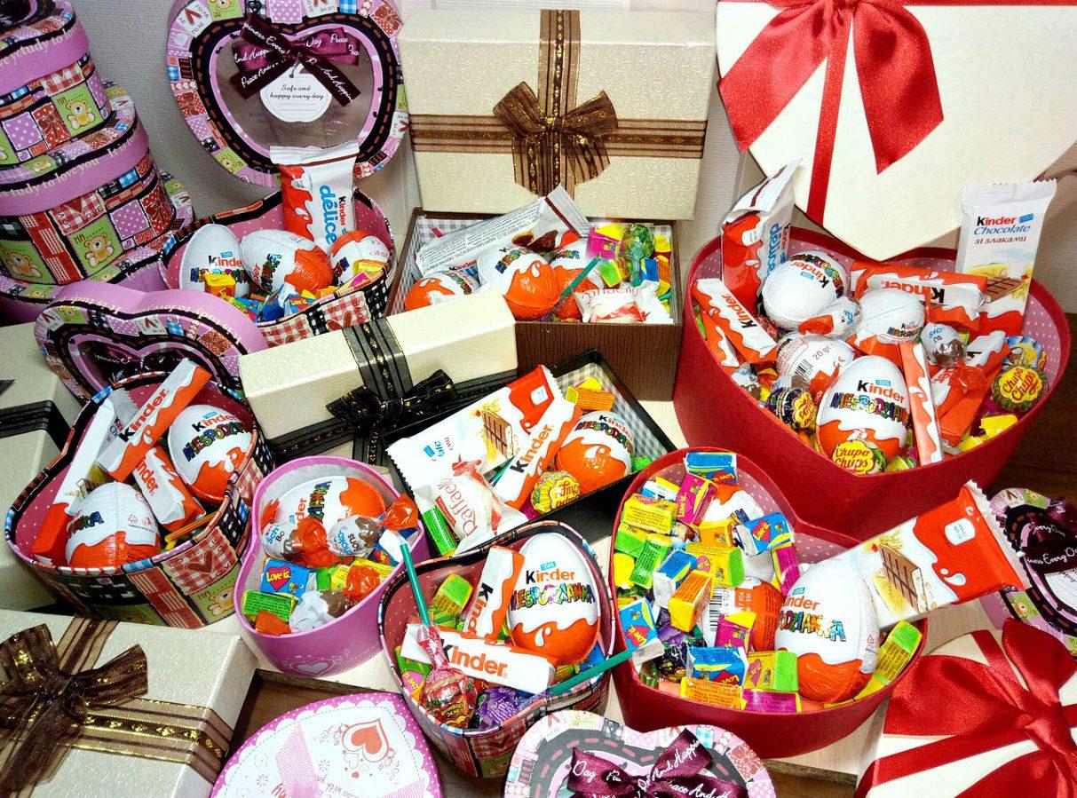 Как подобрать сладкие корпоративные подарки для детей?