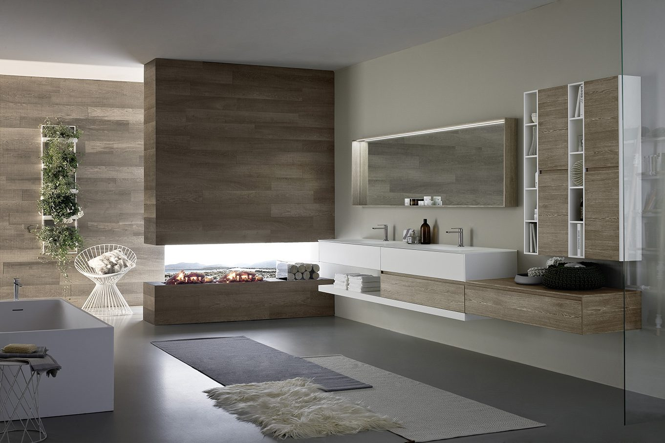Какая мебель необходима для ванной?