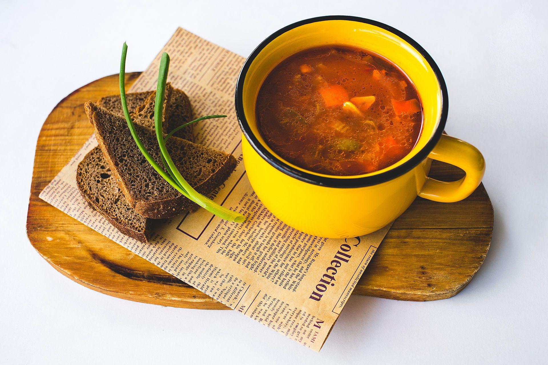 Как доставляют супы?