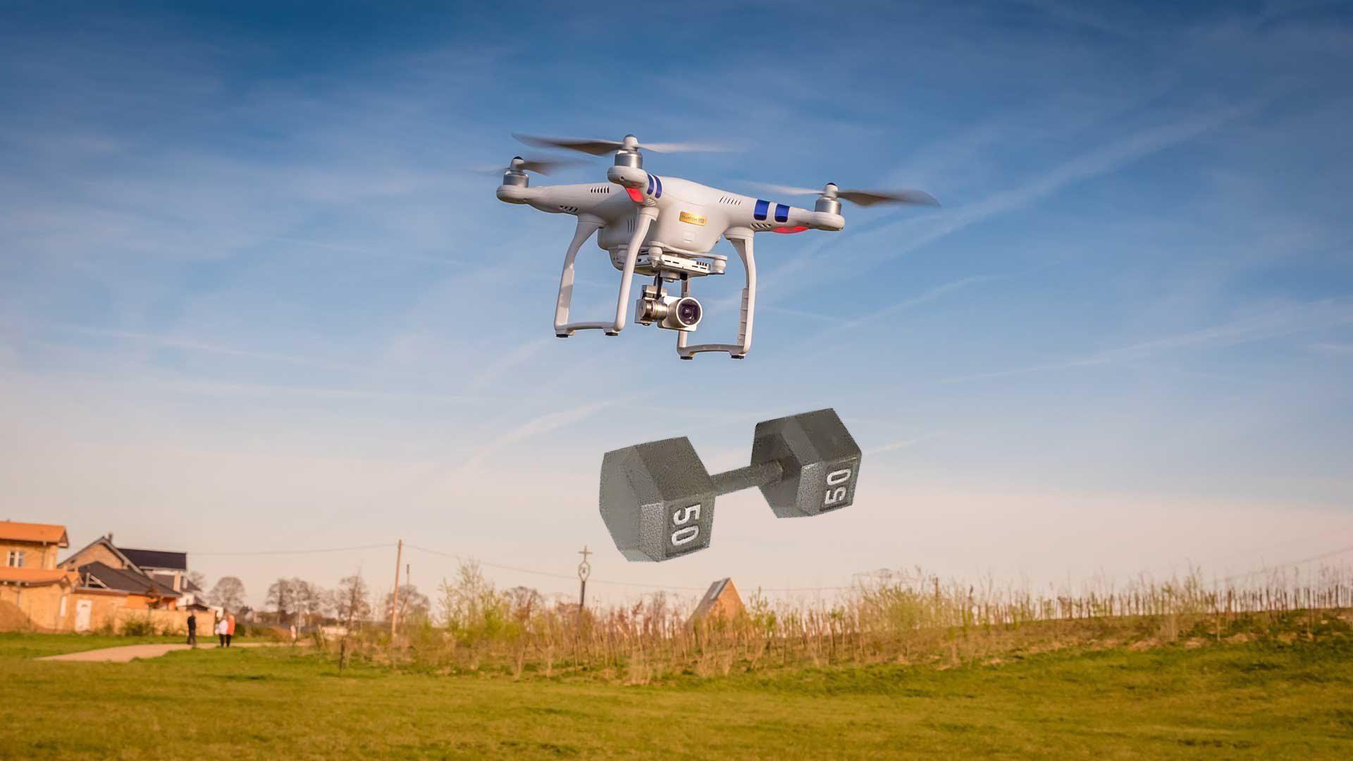 Как осуществляется аэросъёмка с квадрокоптера?