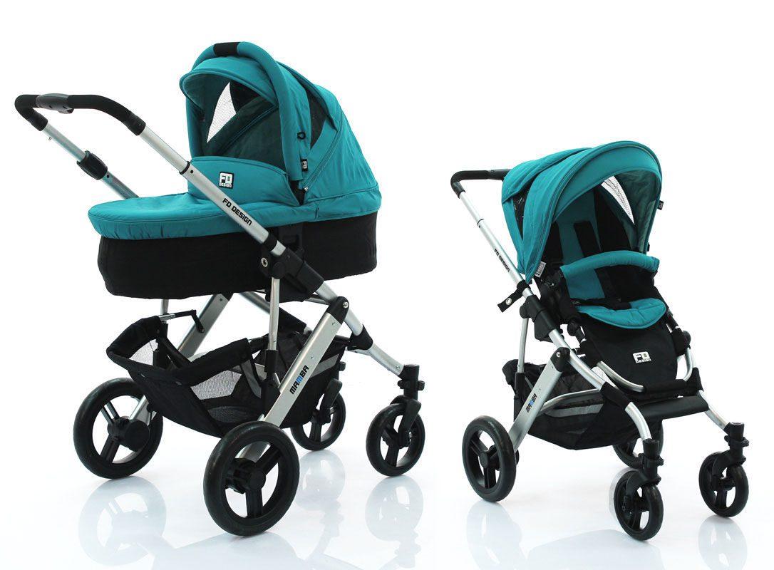 Обзор детских колясок fd design 2 в 1