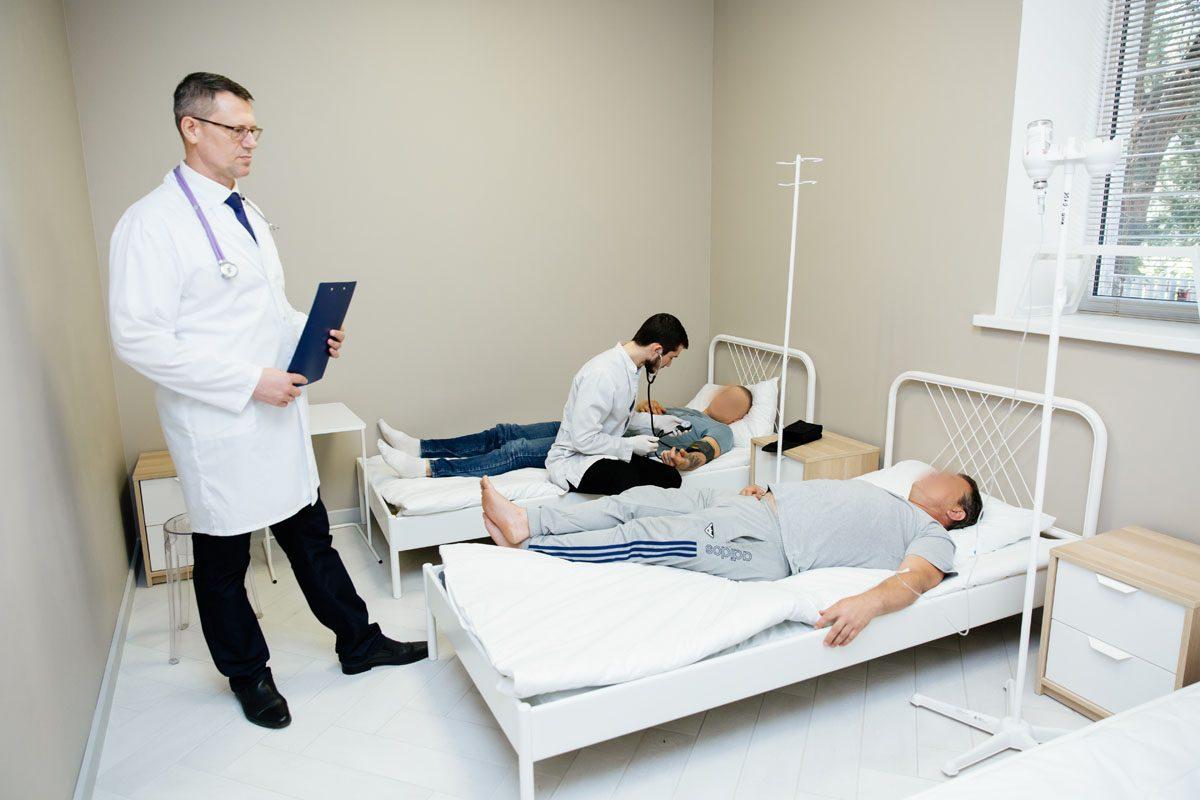 Как оказывают помощь в наркологической клинике?