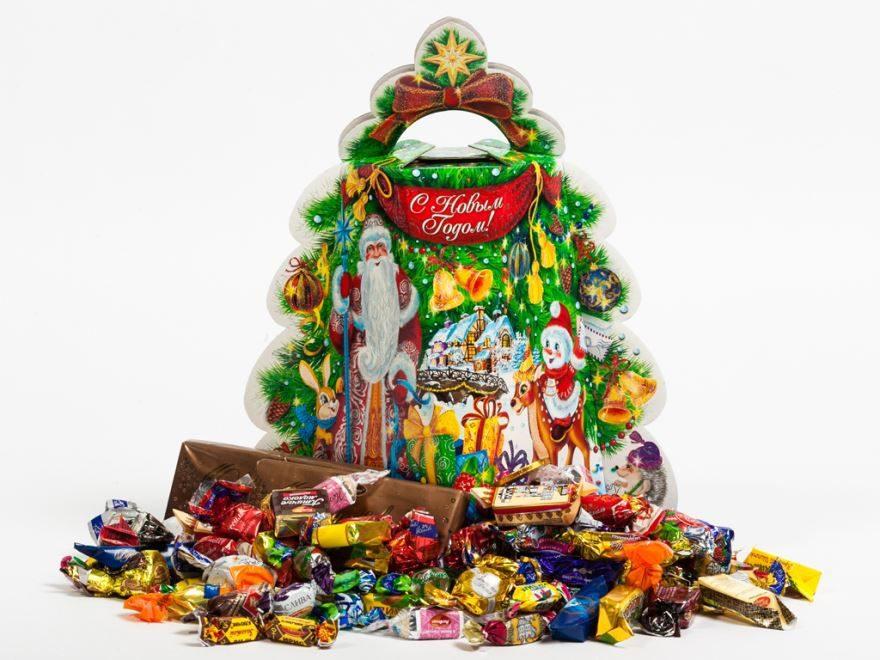 Какие сладкие подарки выбрать на новый год?