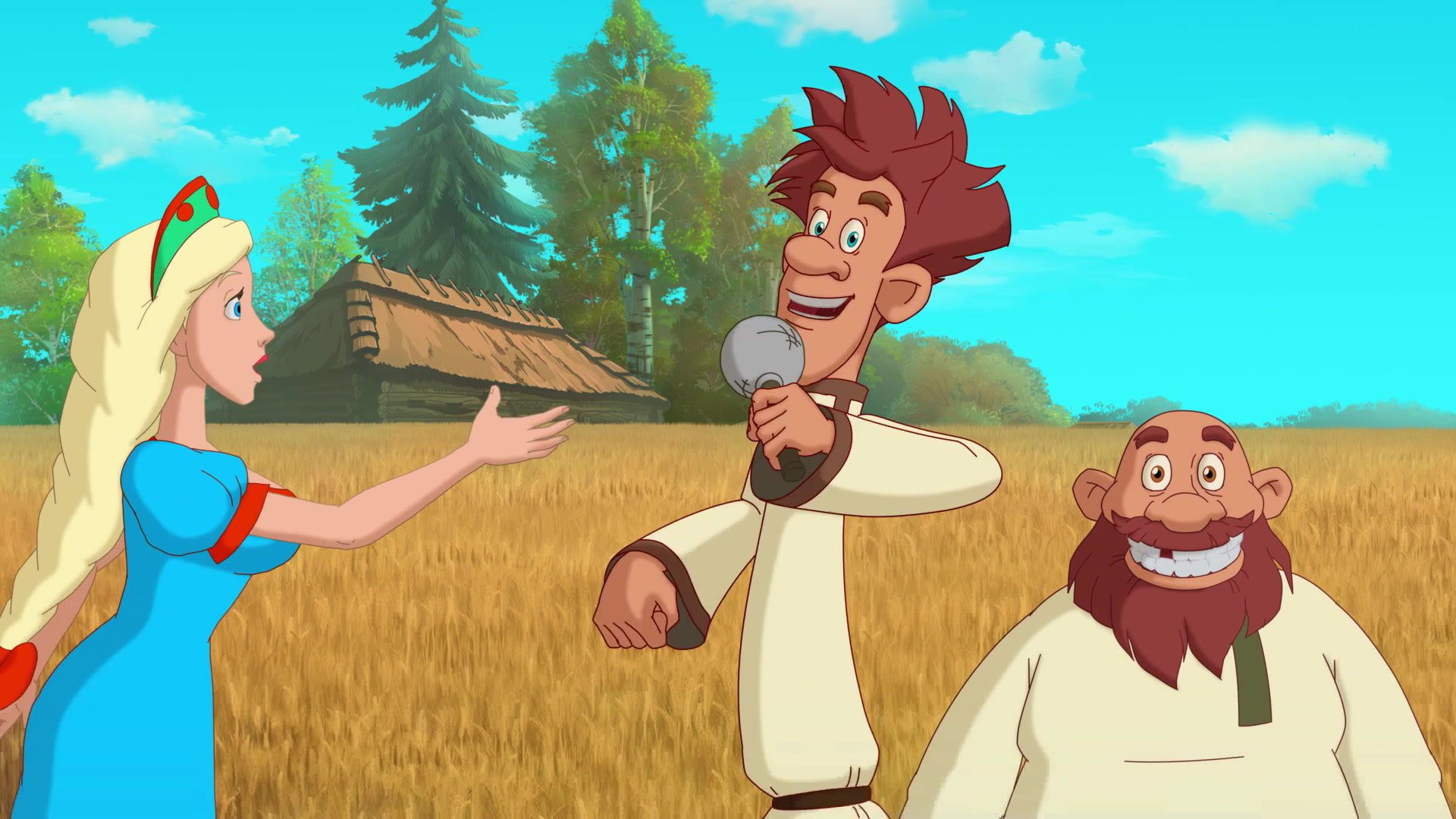 Какие русские мультфильмы на пике популярности?