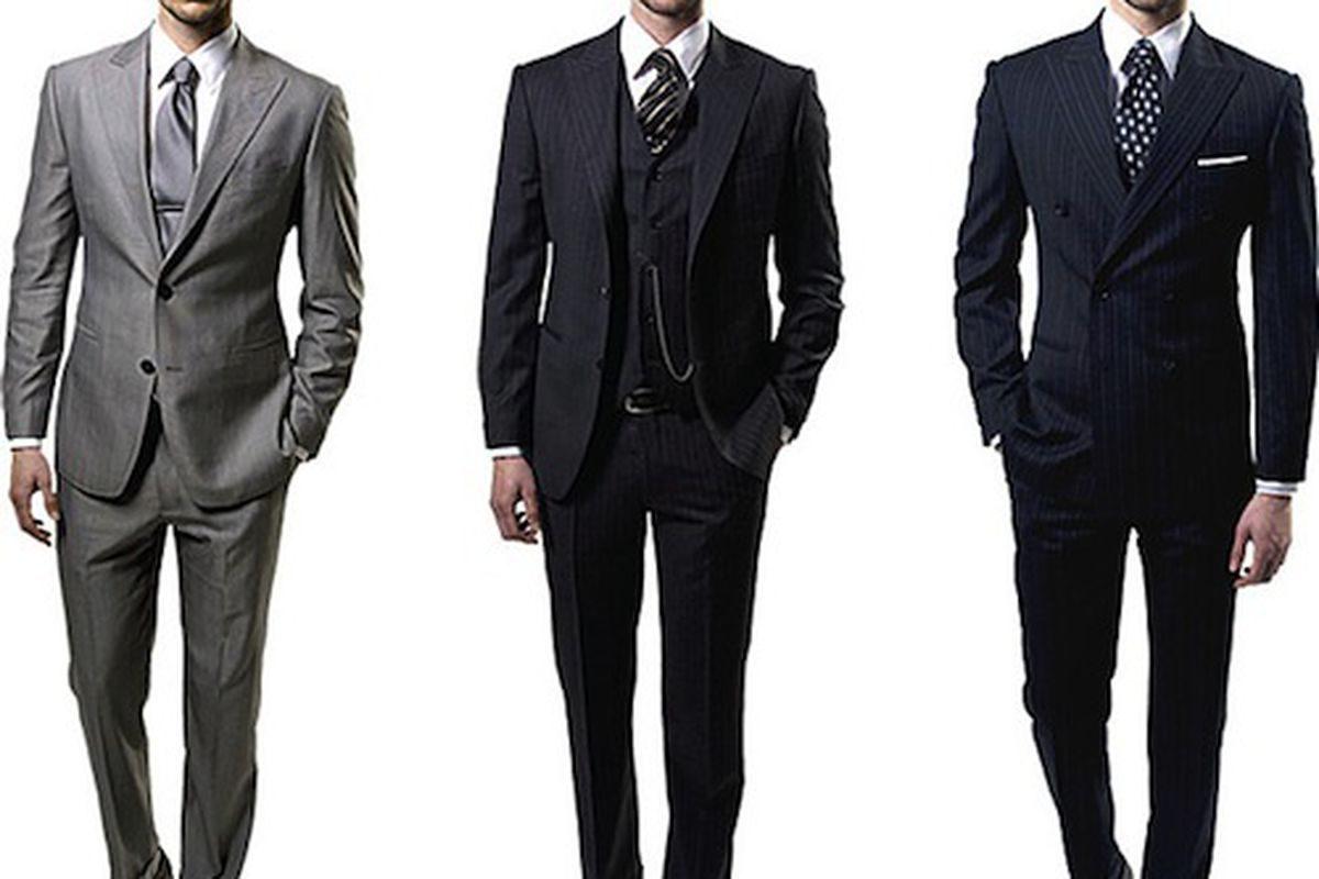 Правила выбора мужских костюмов