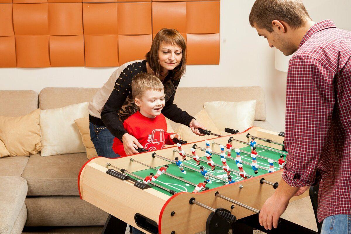 В какие настольные игры поиграть с ребёнком?