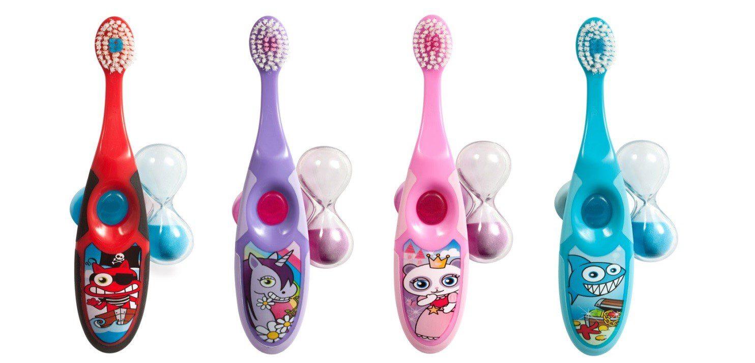 Как подобрать детскую зубную щётку?